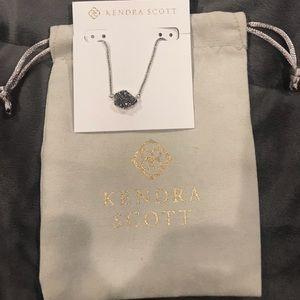 Kendra Scott Drusy Tess Pendant Necklace NWT